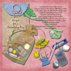 Recipe for friendship bag- Bing Images