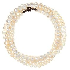 Check out this item at One Kings Lane! Classic Freshwater Pearl Wrap Bracelet