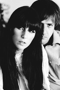 Sonny & Cher I loved them together.If it wasn't for Sonny Cher would n't be as popular as she is now