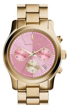 Michael Kors chronograph watch http://rstyle.me/n/winripdpe