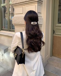 Hair Day, Your Hair, Hair Inspo, Hair Inspiration, Aesthetic Hair, Pretty Hairstyles, Female Hairstyles, American Hairstyles, Hairstyles 2018
