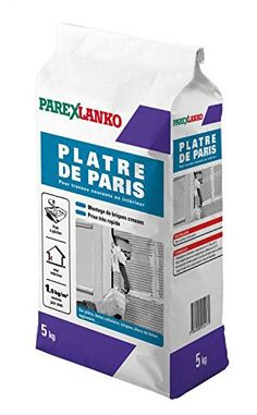 ParexGroup 2801 Plâtre de paris 5 kg