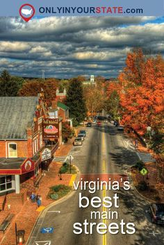 Remember when Main Street was the heart of town? These 25 towns in Virginia are bringing Main Street back as Virginia Main Street Communities. Train Travel, Travel Usa, Globe Travel, Weekend Trips, Day Trips, Cool Places To Visit, Places To Travel, Travel Destinations, Virginia Attractions