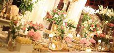 Table Decorations, Furniture, Home Decor, Dessert Buffet, February, Decorations, Interior Design, Home Interior Design, Arredamento