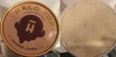#HaloTop ice cream #OatmealCookie. My favorite new flavor so far. Bits and pieces of oatmeal cookies in the middle.
