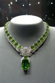 Beautiful Burmese Peridot necklace