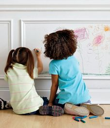 How to remove crayon from your painted walls