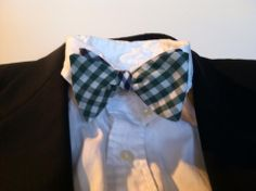 Black and White Bow Tie by Phi Ties