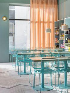 Fine Food / Restaurant and Coffee Shop di Note Design Studio | Caffetterie - Interni