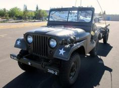 We have a 1954 M38A1 Jeep with M100 Trailer coming up for auction!