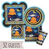 Under The Sea Critters - Birthday Party Theme | BigDotOfHappiness.com