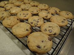 The Made From Scratch Marine Wife's Recipes: Soft Cake-Like Chocolate Chip Cookies