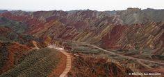 Zhangye Danxia Landform, Gansu, China. [photo credit: Mohsin A. Soomro]