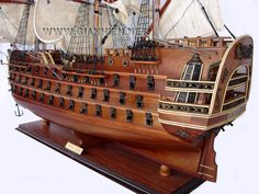Royal Louis deck & lifeboat - canoe