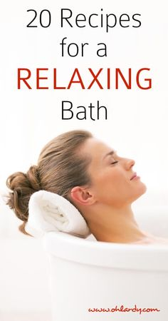 20 Recipes for Relaxing in the Bath with Epsom Salts and Essential Oils - Oh Lardy :: Want some simple tips to help you detoxify your personal care products?  Grab this awesome PDF with great recipes and tricks to help you: https://il313.infusionsoft.com/app/form/d2af4441b09d6f19ec3310f0908ed64d