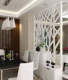 10 Outstanding Tricks: Simple False Ceiling For Office false ceiling design living rooms. Living Room Partition, Living Room Divider, False Ceiling Living Room, Room Partition Designs, Living Room Decor, Partition Ideas, Living Rooms, Ikea Room Divider, Room Dividers