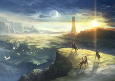View an image titled 'Nord Highlands Art' in our The Legend of Heroes: Trails in the Flash art gallery featuring official character designs, concept art, and promo pictures. Trails Of Cold Steel, The Legend Of Heroes, Japan Games, Fantasy Setting, Flash Art, Environment Design, Sci Fi Fantasy, Art Pictures, Character Art