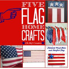 Folk Art Flag How-To's