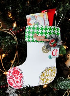 Gift Card Stocking.