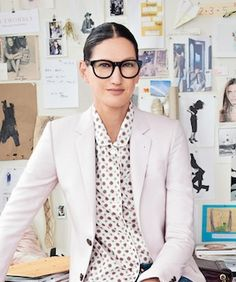 """What's not to love about J. Crew creative director Jenna Lyons? She's stylish but quirky, successful yet approachable, and even Solange is gushing: """"As my friendship with Jenna grows, so does my complete admiration for what she embodies as a woman, a mother, and a force in the world."""" So, it's no surprise — in fact, it would've been quite offensive any other way — that she was named one of Glamour's Women of the Year for 2012"""