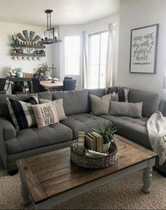 Farmhouse Living Room Decor Ideas U2013 Farmhouse Style Is Charming And  Comfortable, Itu0027s Ideal For Families As It Makes A Magnificent Environment.