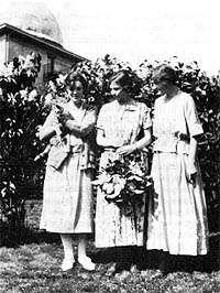 Harvia Wilson, Adelaide Ames i Cecilia Payne a Harvard, 1924