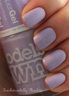 Fundamentally Flawless: Models Own HyperGel Lilac Sheen swatch  | See more at http://www.nailsss.com/acrylic-nails-ideas/3/