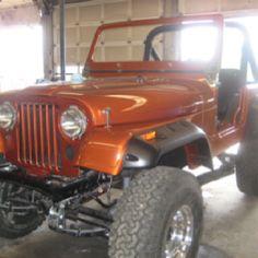 Restored jeep CJ 7