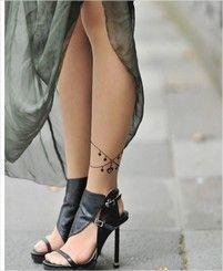 Collants tattoo chaîne cheville - secretsdisa.com