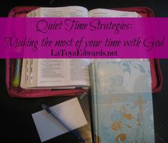 Tips for making the most of your time with God. Great for busy moms and moms with littles.