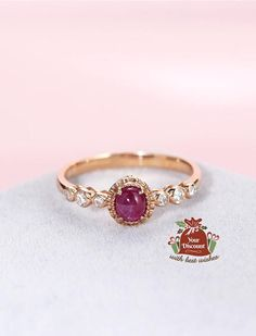 Oval cut engagement ring diamond engagement ring rose gold