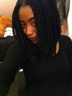 Yarn twist (bob) *done by me!