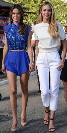 Alessandra Ambrosio ve Candice Swanepoel