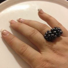 """Blueberry Hill"" Ring"