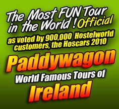 Paddywagon- best way to see a little piece of Ireland
