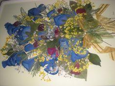 BOUQUET   fiori pressati
