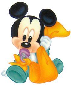 Baby Mickey w/Blankie