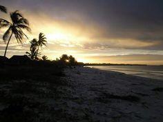 Sunset in Tanzania.