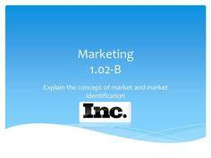 Explain the concept of market and market identification> Market Segmentation, Consumer Marketing, Marital Status, Brand Management, How To Run Longer, Entrepreneurship, Behavior, The Neighbourhood, Competition