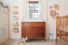 the boo and the boy: change areas for babies
