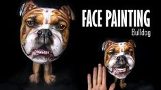 #Bulldog #facepainting #Dog #Hund #ansiktsmålning #Makeup #Makeupartist #Faceart #Bodypainting #illusion #Art #illusionmakeup #Facepaint #illusionart #facepaintingdog #painting #bodyart #Faceartist #Facepainter #animal #djur #Målning #smink #transformation