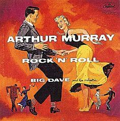 Arthur Murray Rock n Roll Rock And Roll, Arthur Murray, Cover Art, Album Covers, Comic Books, Cool Stuff, Comics, 1950s, Store