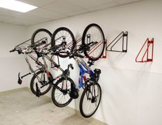 Put Your Bike On Display With These Wall Mounted Bike . Swagman X Mount Bike Carrier Storage Rack Wall Mount 2 . Home Design Ideas Bike Storage Room, Bike Storage Systems, Bike Storage Solutions, Bicycle Storage, Storage Rack, Bicycle Wall Hanger, Wall Mount Bike Rack, Bicycle Rack, Vertical Bike Storage