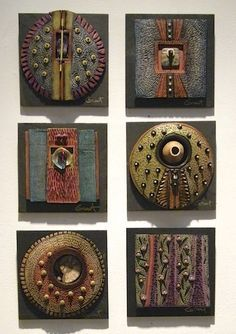 Native American finds..Clay jewelry**