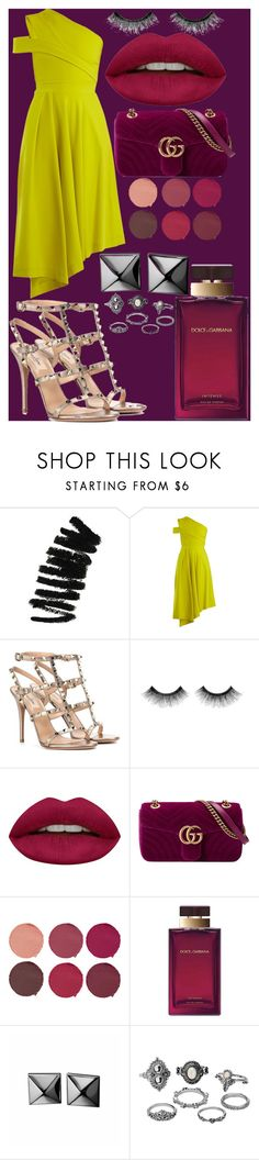 """""""stories"""" by samalbrycht on Polyvore featuring Bobbi Brown Cosmetics, Preen, Valentino, Urban Decay, Huda Beauty, Gucci, Pat McGrath, Dolce&Gabbana, Waterford and Charlotte Russe"""