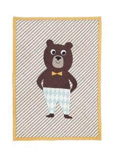Ferm Living Bear Quilted Blanket | 2Modern Furniture & Lighting