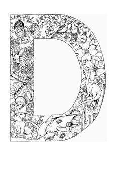 Fichas didacticas de alfabetos con dibujos infantiles. 37