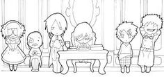 black butler chibi coloring pages google search