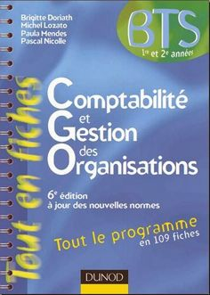 Télécharger le Livre Comptabilité et Gestion des Organisations | Fontaine de Connaissance
