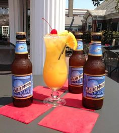 After the day at the beach I bet one of these would hit the spot. Come down to the Patio for a pre-dinner drink!